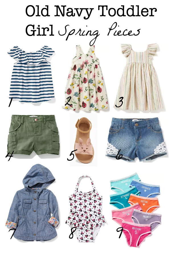 In Kaia S Cart Old Navy Toddler Girl Spring 2017 The Less Than Domestic Goddess