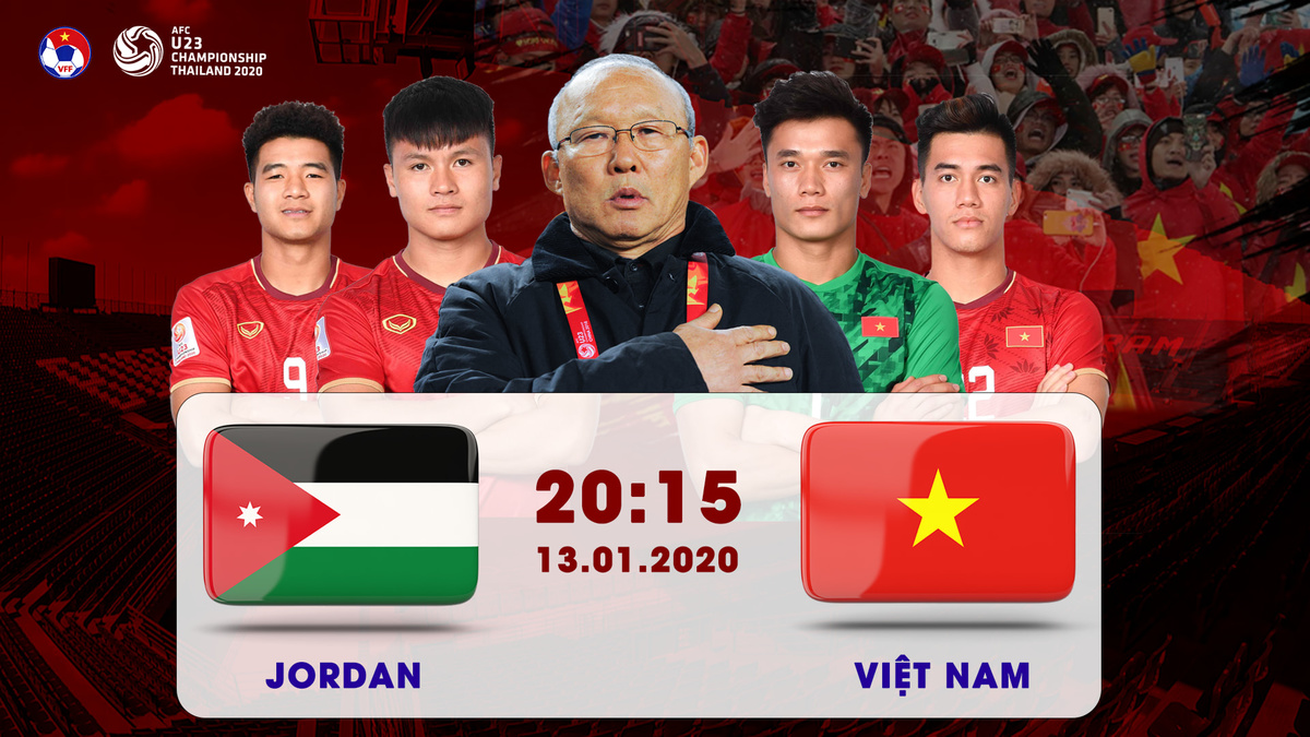 Xem lại U23 Việt Nam vs U23 Jordan highlights & video full match