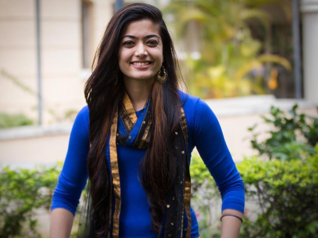 Rashmika Mandanna look
