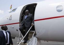 Akufo-Addo Travels Outside Ghana