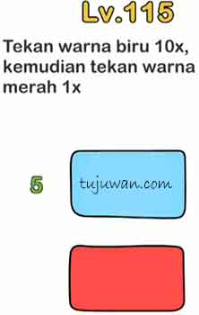 Kunci Jawaban Brain Out Level 116 : kunci, jawaban, brain, level, Brain, Tekan, Warna, Kemudian, Merah, Jawaban, Peringkat, Tujuwan.com