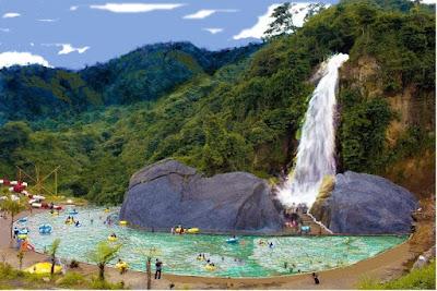 1001 keindahan Tempat Wisata di Sentul, Air Terjun Bidadari