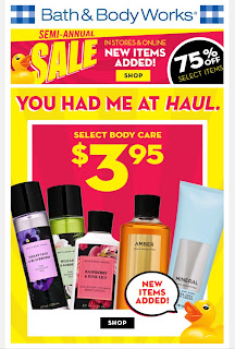 Bath & Body Works | Today's Email - January 14, 2020