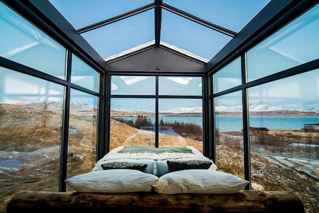 Panorama Glass Lodge - Islandia