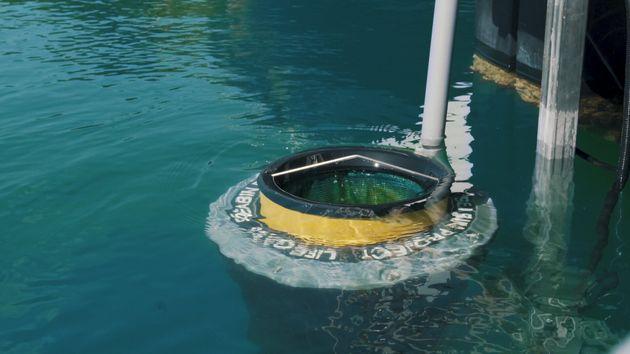 Ετσι καθαρίζονται οι θάλασσες από τα πλαστικά: Το πρώτο Seabin στην Ελλάδα