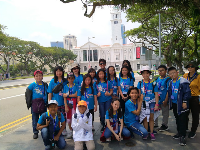 SD Kalam Kudus Adakan Kegiatan Singapore Study Tour 2019