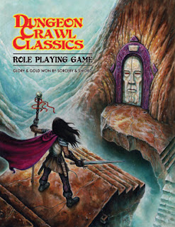 Cover of Dungeon Crawl Classics RPG, published by Goodman Games.