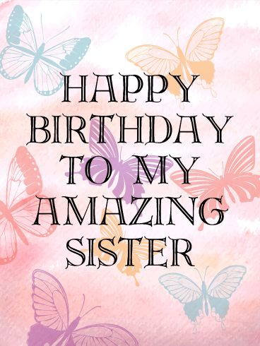Happy Birthday Sister Photos For Whatsapp