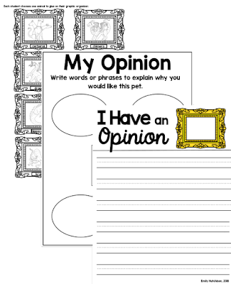 https://www.teacherspayteachers.com/Product/Miss-Turies-Magic-Creatures-Opinion-Writing-4082174