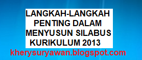 File Pendidikan Langkah-Langkah Penting Dalam Menyusun Silabus Kurikulum 2013