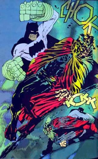 Batman casi mata a Superman
