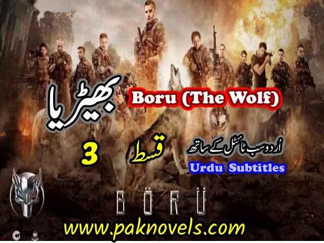 Turkish Drama Boru (The Wolf) Episode 3 Urdu Subtitles