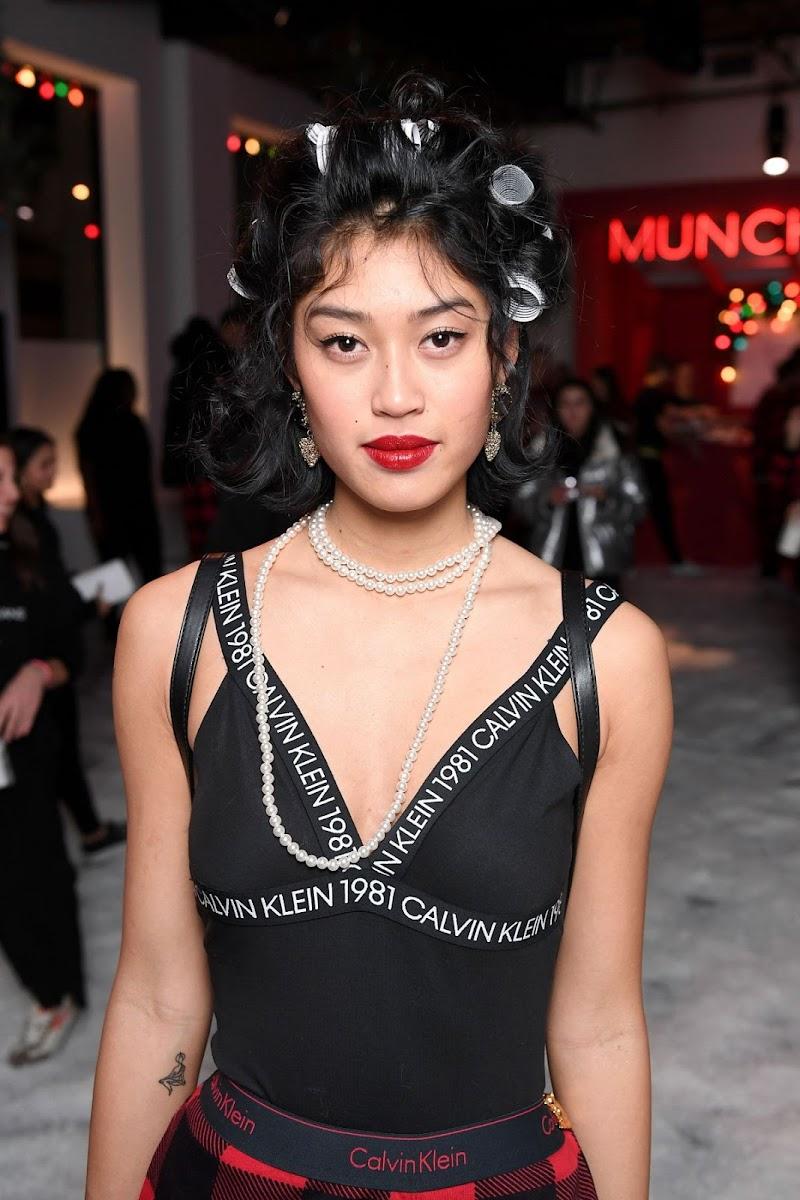 Anuthida Clicks at Calvin Klein Pajama Party in New York 11 Dec-2019