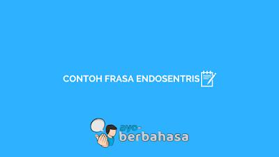 contoh frasa endosentris