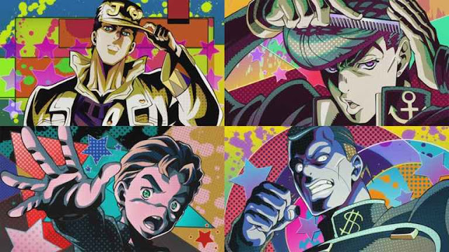 Anime Mirip JoJo's Bizarre Adventure: Diamond Is Unbreakable