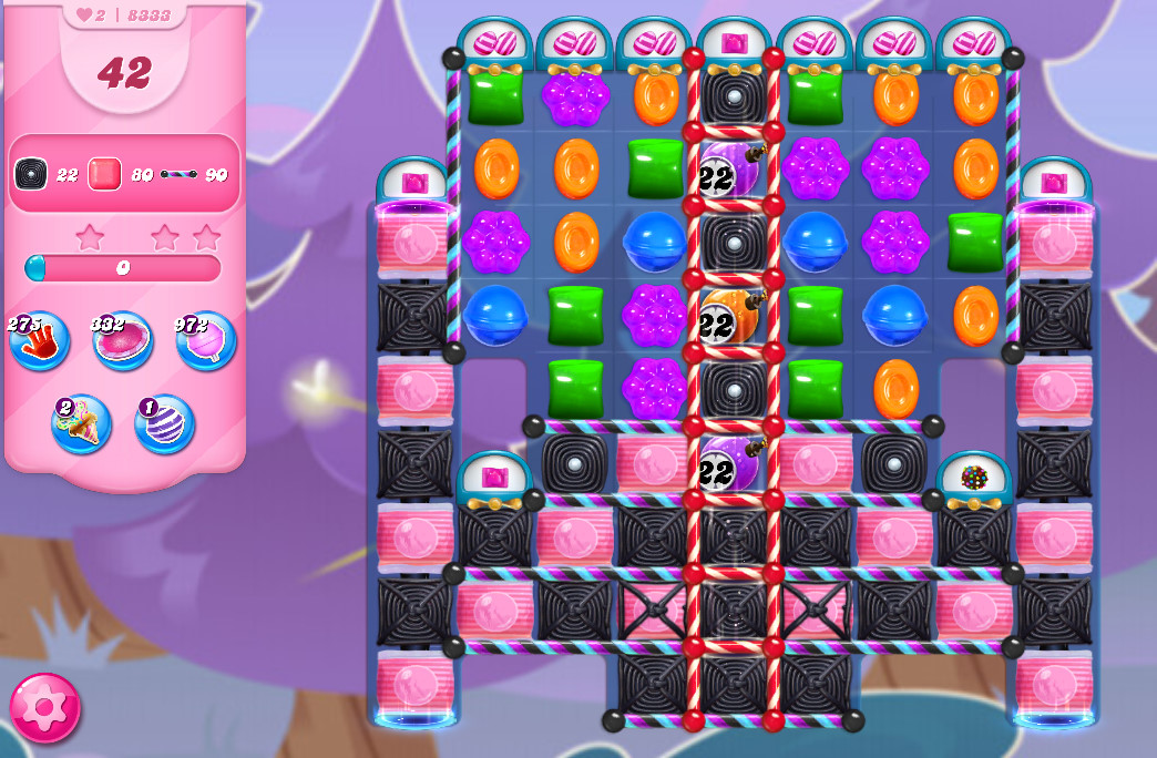 Candy Crush Saga level 8333