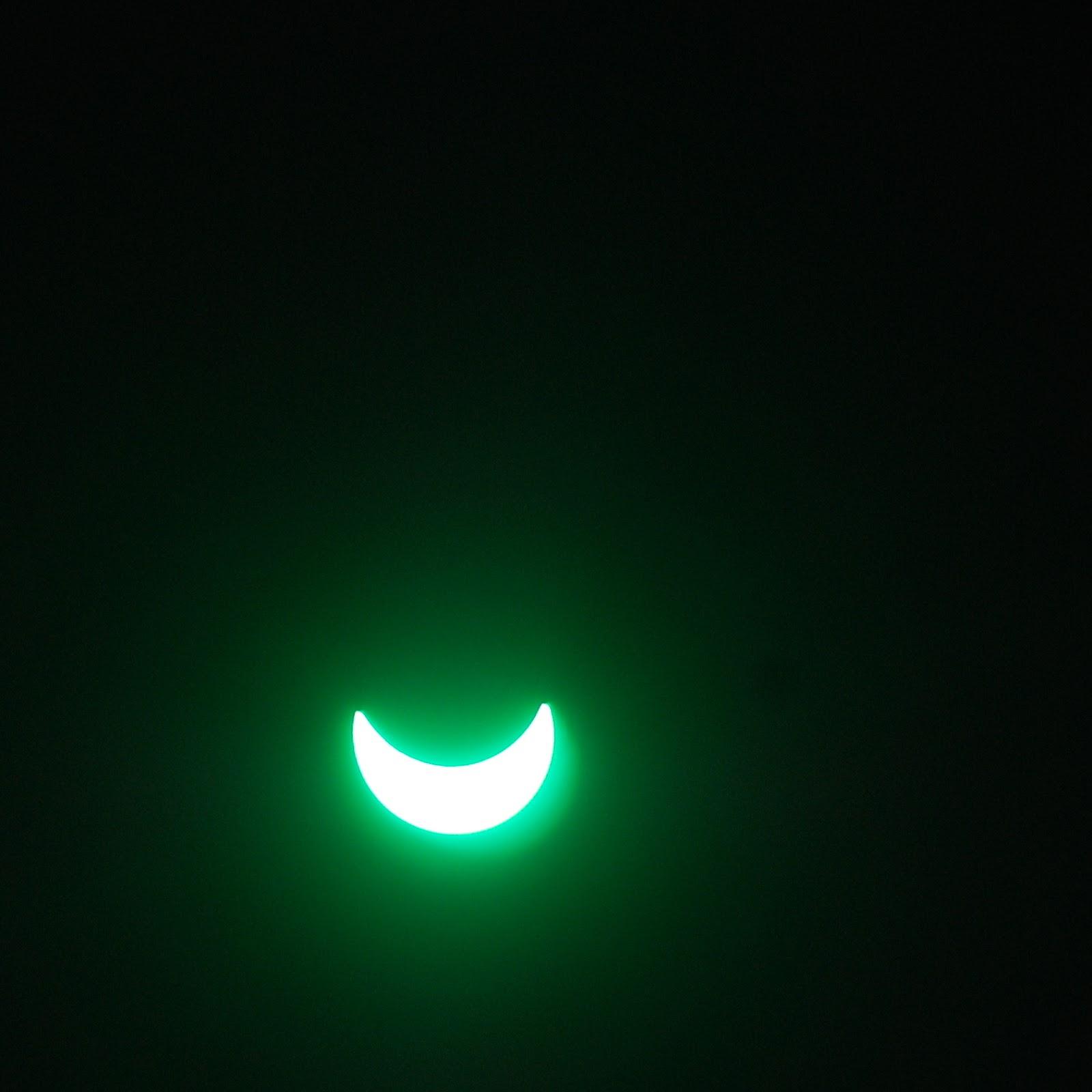 Zaćmienie słońca 20 marca 2015 Polska. Sosnowiec. Solar eclipse. Poland