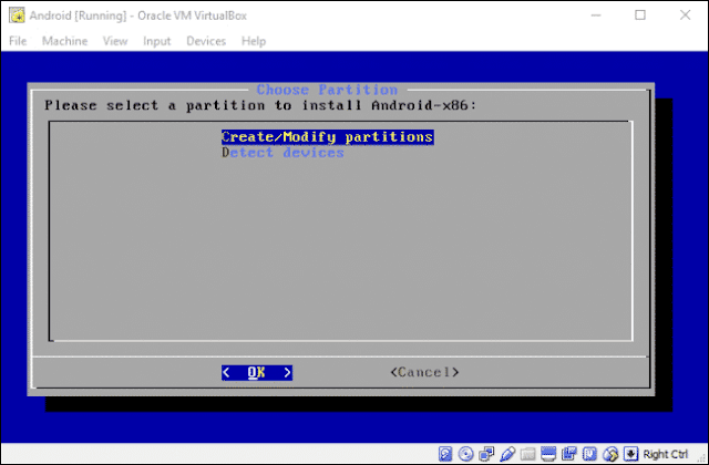 Install Android di Mesin Virtual (Virtual Machine)