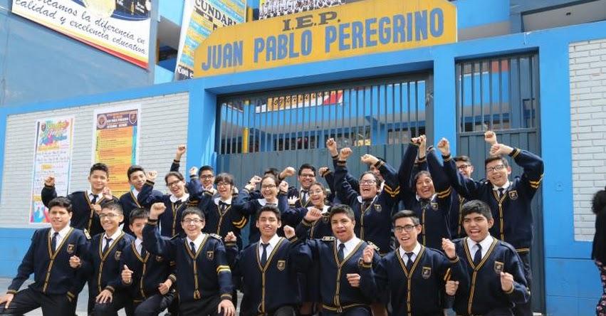 Toda una promoción del colegio Juan Pablo Peregrino, de Carabayllo logró ingresar a la universidad San Marcos