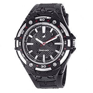 Fastrack New OTS Analog Black Dial Men's Watch -NK9332PP02-Price -₹ 1,530.00