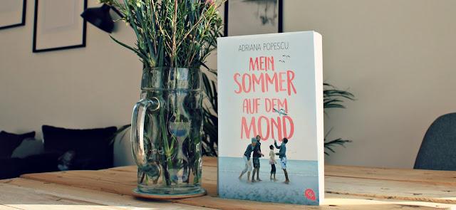 [Rezension] Mein Sommer auf dem Mond - Adriana Popescu