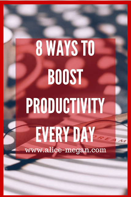 8 ways to boost productivity