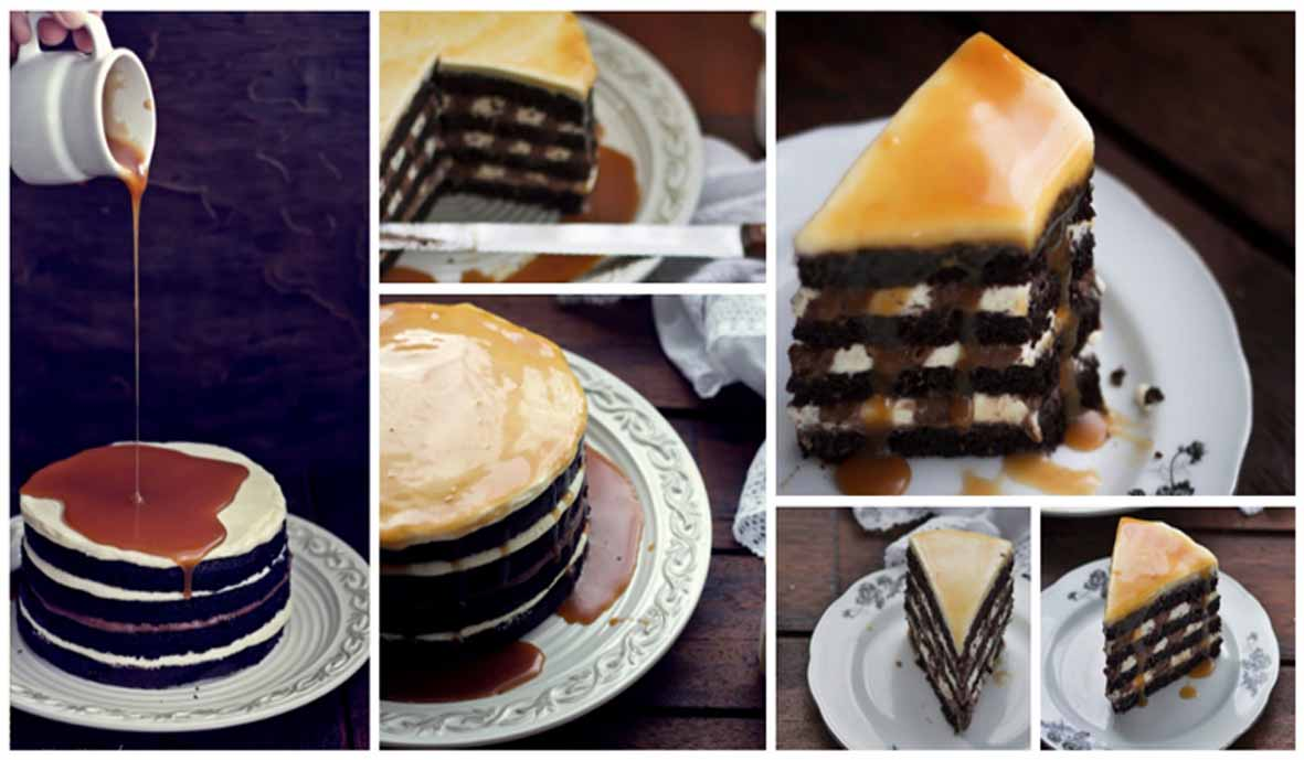 Resep Blacke And White Russian Cake