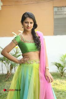 Actress Nikitha Bisht Stills in Lehenga Choli at Pochampally Ikat Art Mela Launch  0129.JPG