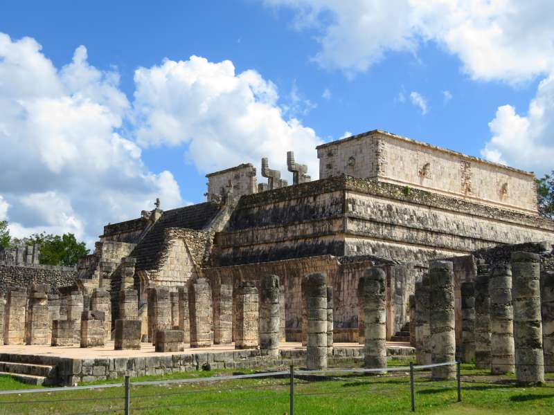 Temple of Warriors Chichen Itza