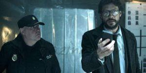 "Money Heist Season 1 Episode 3: ""Errar Al Disparar"" or ""Misfire."""
