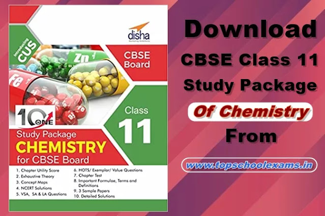 Download 10 in One Study Package for CBSE Chemistry Class 11 with 3 Sample Papers PDF