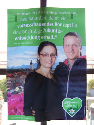 Maria und Florian Schützinger zur Landesgartenschau Traunstein