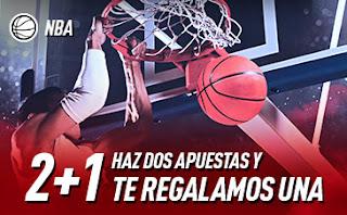 sportium promo NBA: 2+1 hasta 2 agosto 2020