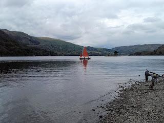 sailing at the Lake District