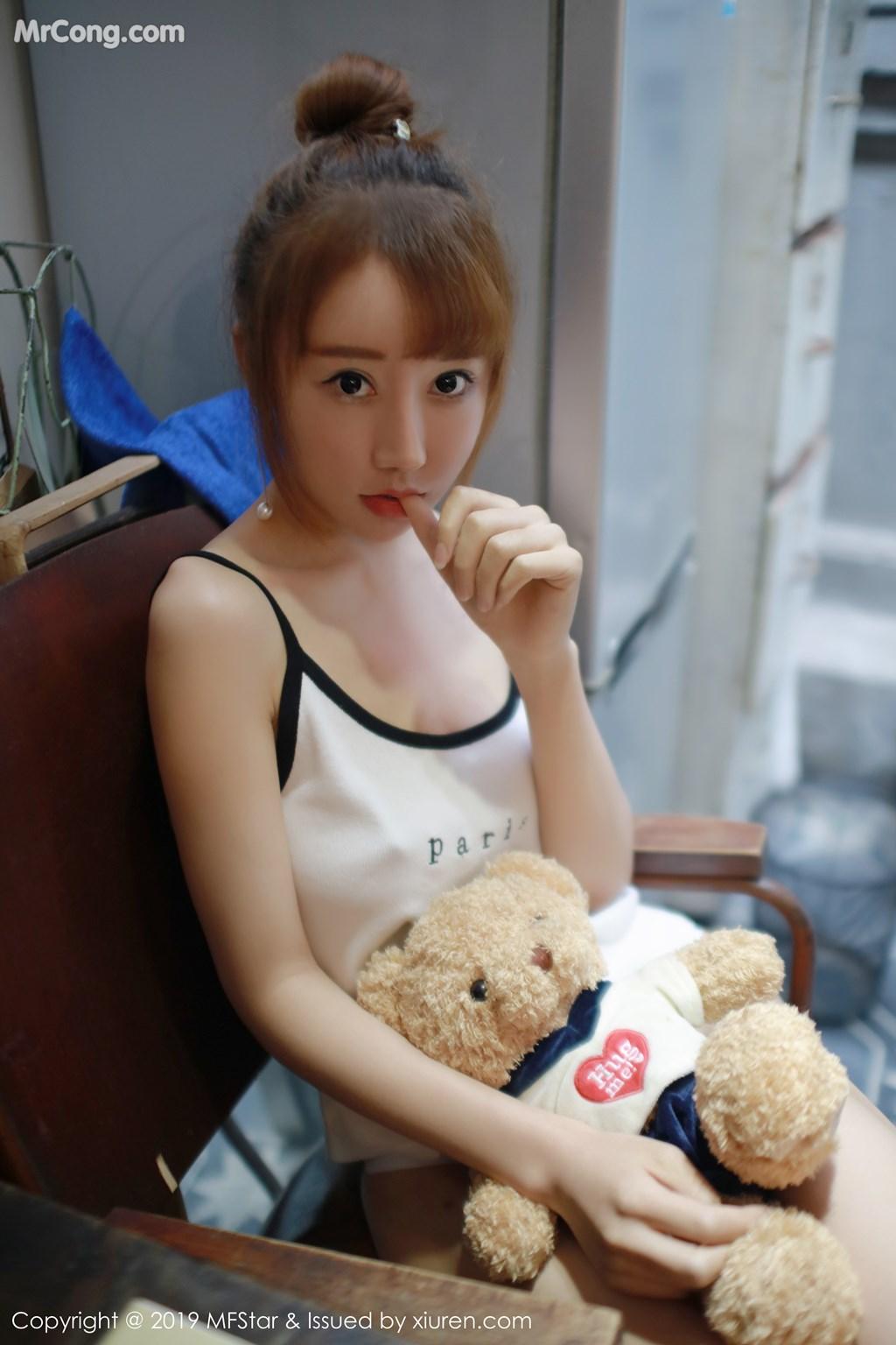 Image MFStar-Vol.188-Xia-Xiao-Xiao-Summer-MrCong.com-005 in post MFStar Vol.188: Xia Xiao Xiao (夏笑笑Summer) (41 ảnh)
