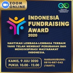 indonesia foundraising award