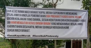 Masyarakat Kecewa,Di Duga Camat Nibung Hangus Hambat Berjalan Nya Roda Pemerintah Desa Kapal Merah