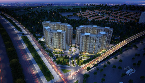 Phối cảnh dự án Xuân Mai Complex Hà Đông