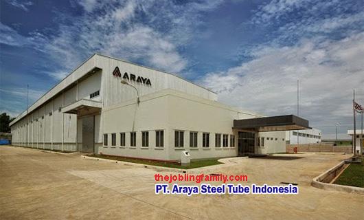 Lowongan Kerja Terbaru PT. Araya Steel Tube Indonesia (ASTI) Bulan November 2018