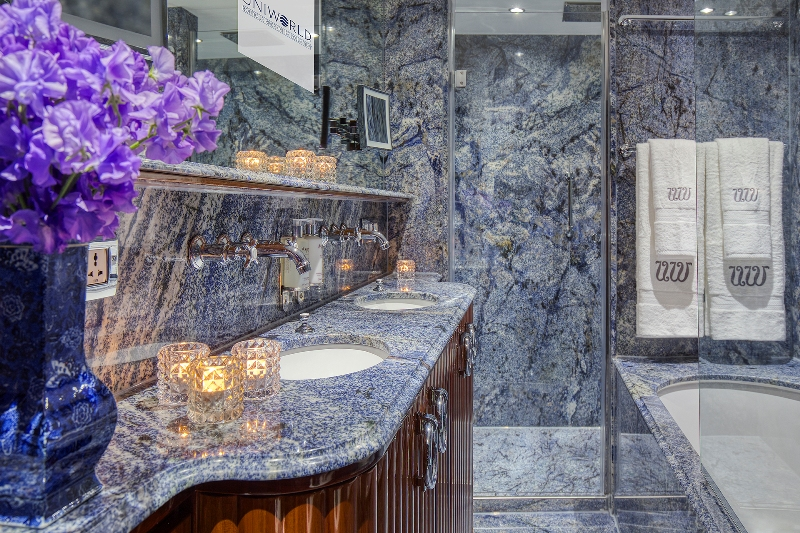 uniworld s s bon voyage marble bathrooms