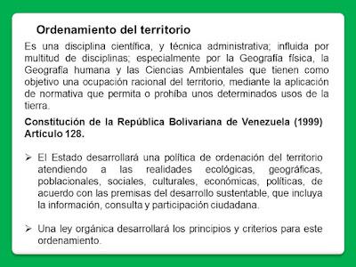 base legal Ordenamiento Territorial