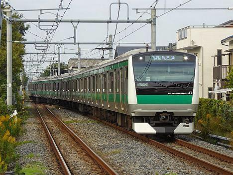 埼京線 各駅停車 新木場行き E233系