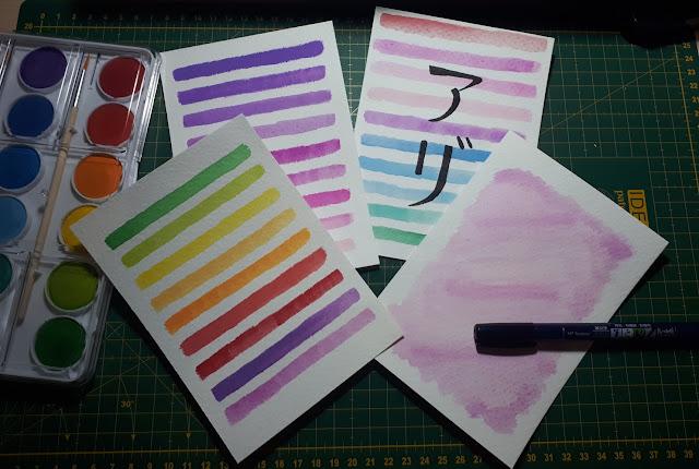 acuarela regalar nombre en japones monerias en fieltro pamonisimayo