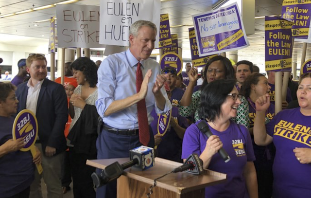De Blasio shouts Cuban revolutionary slogan at Miami rally