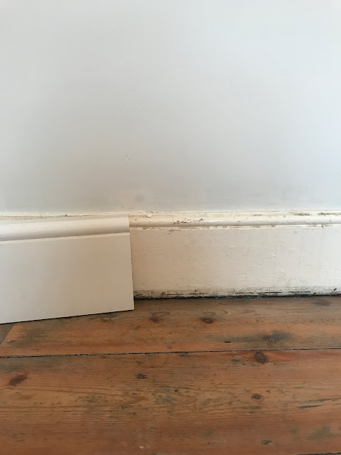 How to match new skirting boards for old ones