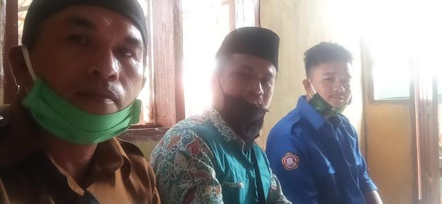 Karang Taruna Harapan Baru DesaTaccorong Mendelegasikan wakil dan satu pembina ke Desa Karama Kec. Rilau Ale