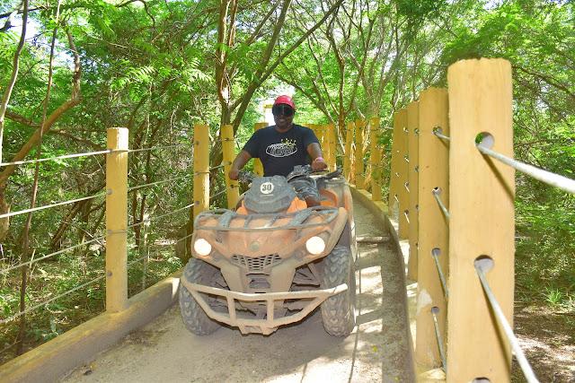 ATV riding in Cancun Mexico