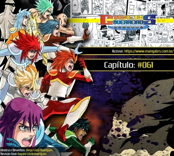 Arte BR: Ciber Guerreiros - Cap 61