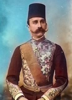 10 مليمات السلطنة المصرية عهد السلطان حسين كامل سنة 1914 ميلادي - 1333 هجري