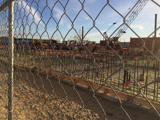 Construction at Station Manasquan Inlet